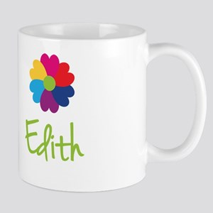 Edith Valentine Flower Mug