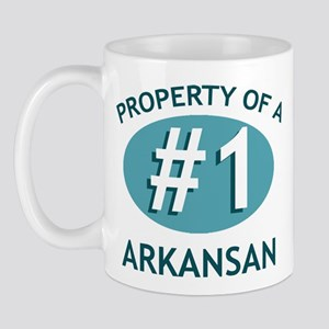 Property Of Arkansan Mug