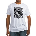 Brian Kelly Electric Tattoo Fitted T-Shirt