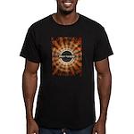 Pray To God Men's Fitted T-Shirt (dark)