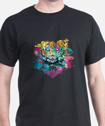 Colourfull Tiger T-Shirt