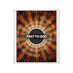 Pray To God Throw Blanket