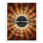 Pray To God Small Poster