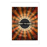 Pray To God Postcards (Package of 8)