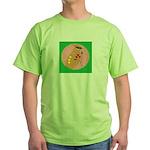waxwing Green T-Shirt