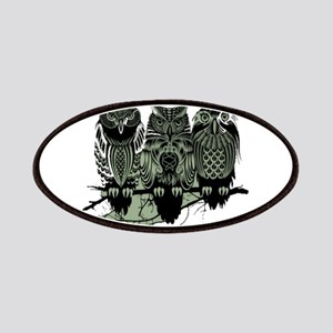 Three Owls Patches