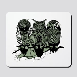 Three Owls Mousepad