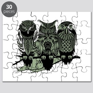 Three Owls Puzzle