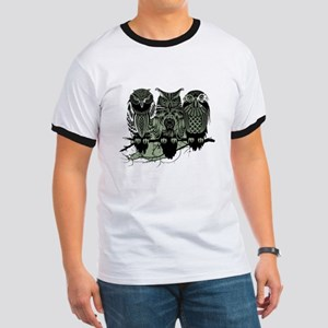 Three Owls Ringer T