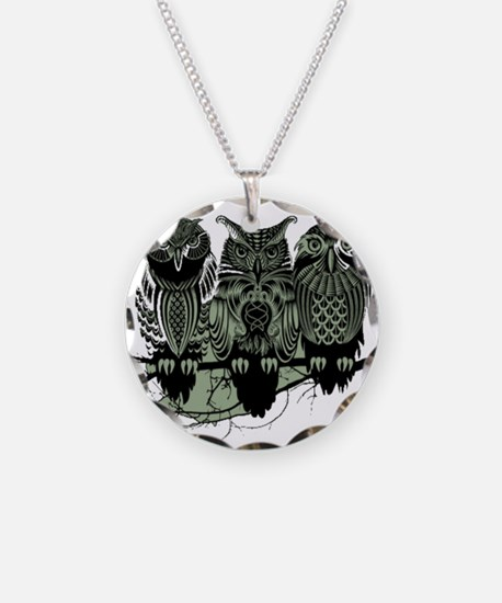 Three Owls Necklace