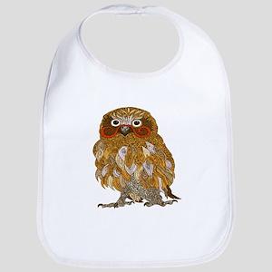 Jewel Owl Bib