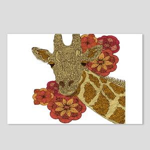 Jewel Giraffe Postcards (Package of 8)