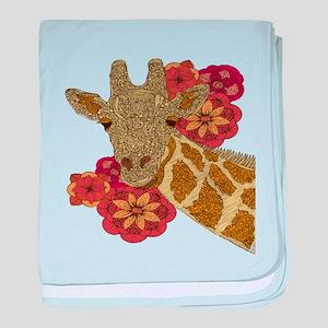 Jewel Giraffe baby blanket