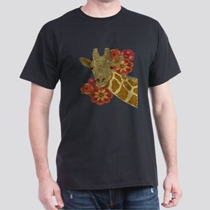 Jewel Giraffe Dark T-Shirt