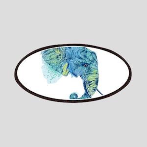 Blue Elephant Patches