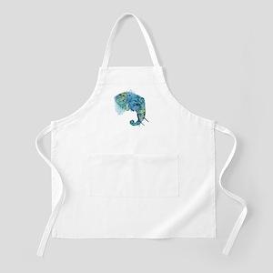 Blue Elephant Apron