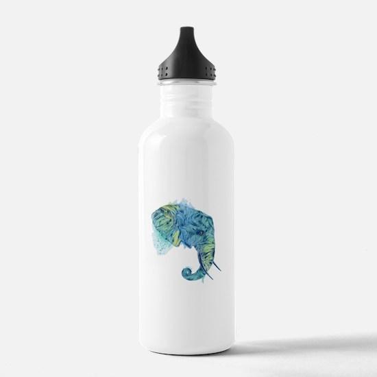 Blue Elephant Water Bottle