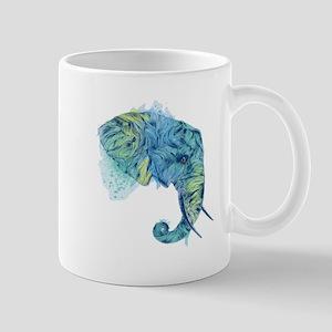 Blue Elephant Mug