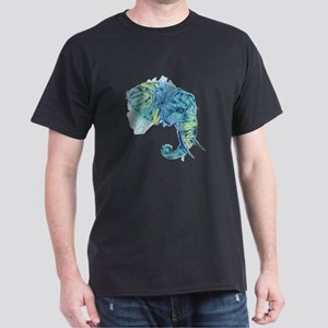 Blue Elephant Dark T-Shirt
