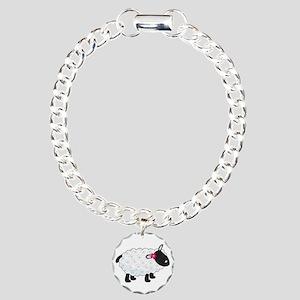 Little Lamb Charm Bracelet, One Charm