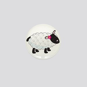 Little Lamb Mini Button