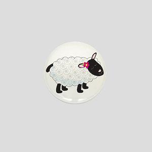 Little Lamb Mini Button