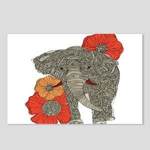 Jewel Elephant Postcards (Package of 8)
