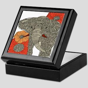 Jewel Elephant Keepsake Box