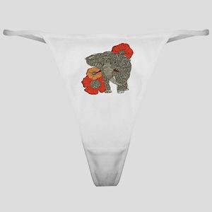 Jewel Elephant Classic Thong