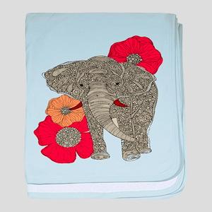 Jewel Elephant baby blanket