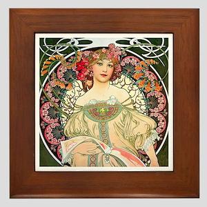 Mucha - F. Champenois Framed Tile