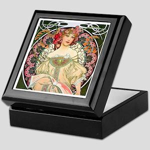 Mucha - F. Champenois Keepsake Box