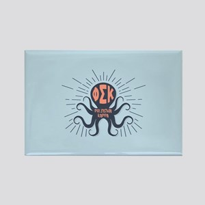 Phi Sigma Kappa Octopus Rectangle Magnet