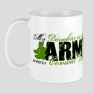 Daughter Law Combat Boots - ARMY Mug