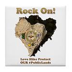 Save Our #PublicLands Tile Coaster