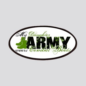 Daughter Combat Boots - ARMY Patches