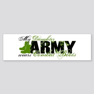 Daughter Combat Boots - ARMY Sticker (Bumper)
