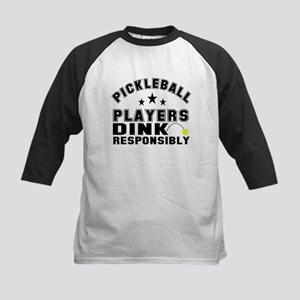 Pickleball Athletics Department Baseball Jersey