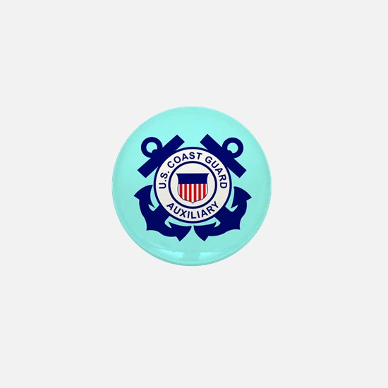 Coast Guard Auxiliary<BR> Mini Button