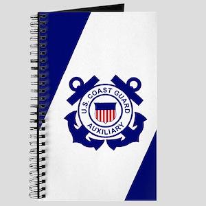 USCG Auxiliary Flag<BR> Log Book