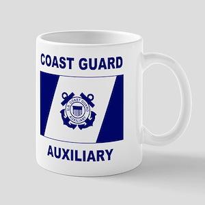USCG Auxiliary Flag<BR> 11 Ounce Mug