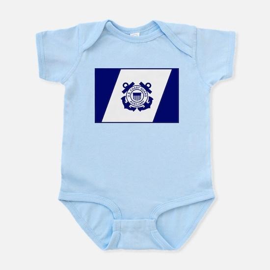 USCG Auxiliary Flag<BR> Infant Creeper