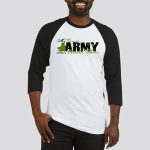 Cousin Combat Boots - ARMY Baseball Jersey