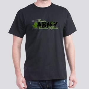 Cousin Combat Boots - ARMY Dark T-Shirt