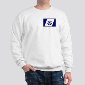 USCG Auxiliary Flag<BR> Sweatshirt 1