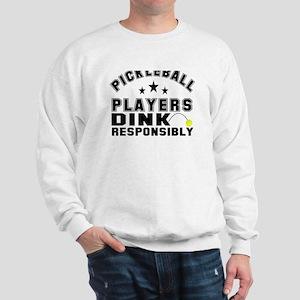Pickleball Athletics Department Sweatshirt