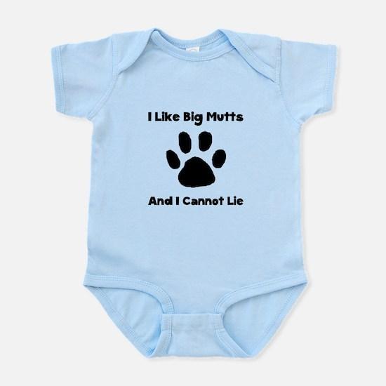 Big Mutts Infant Bodysuit