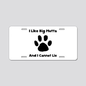 Big Mutts Aluminum License Plate