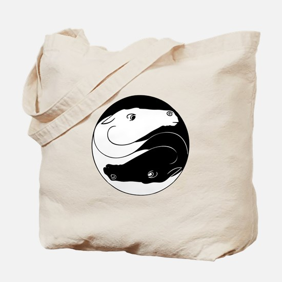 Horse Yin Yang Tote Bag
