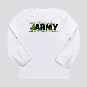 Bro Law Combat Boots - ARMY Long Sleeve Infant T-S
